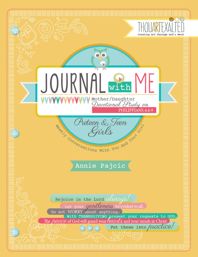 Journal with Me: A Mother/Daughter Devotional Study Image
